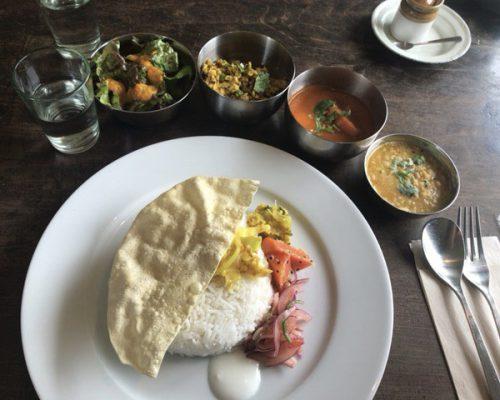 長沼 shandi nivas cafe  original indian curry