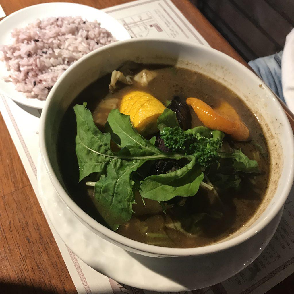 オーガニック キッチン ファームヤード ベジタブル スープカレー